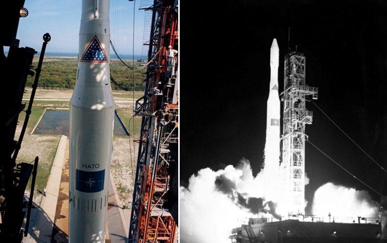 NATO Satellite Launch Space